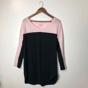 Victoria Secret Pajama Dress / Oversized Top Small